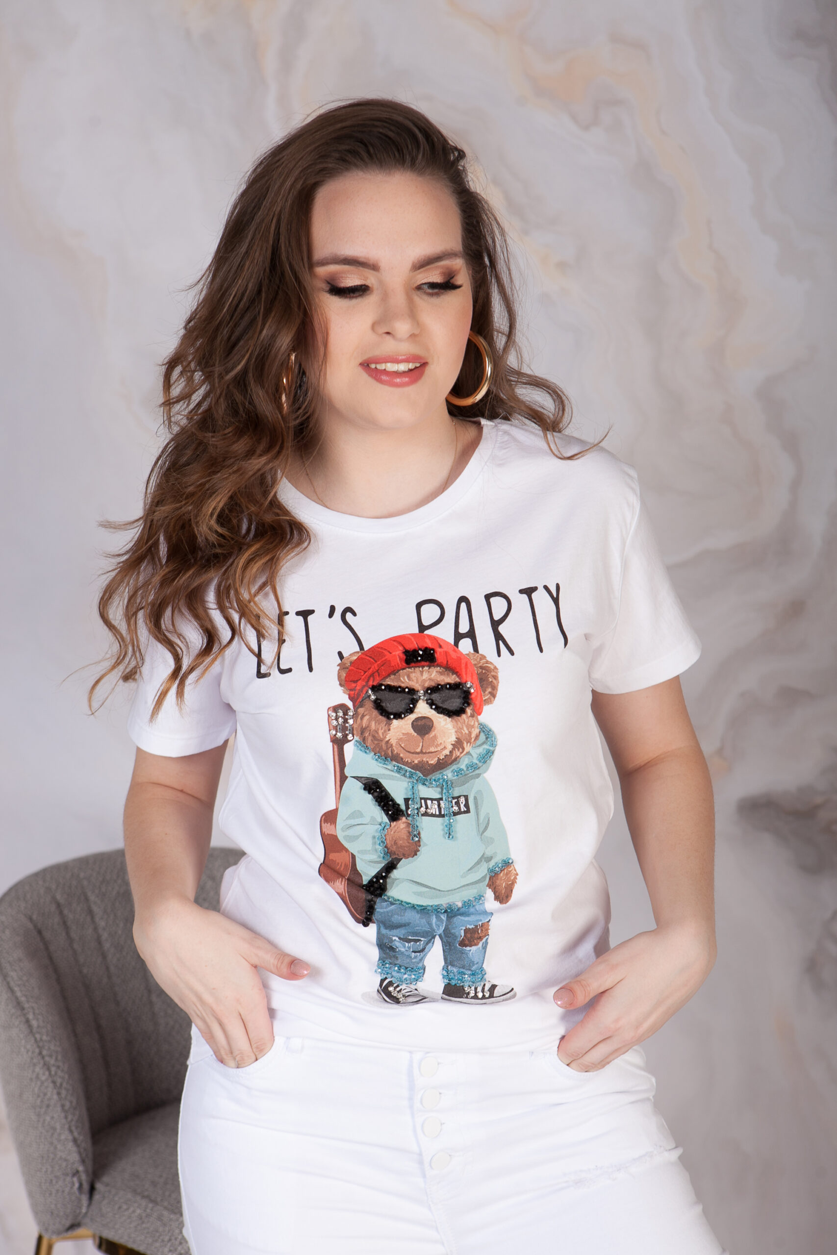 T-SHIRT PARTY BEAR