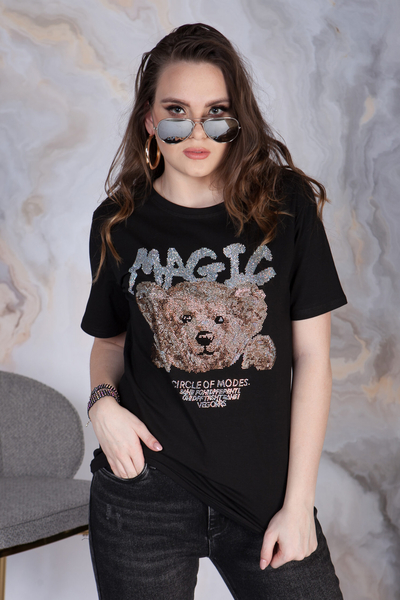 T-SHIRT MAGIC TEDY BEAR
